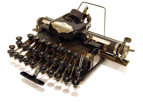 who invented typewriter machine